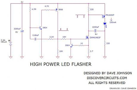 High Power LED Flasher