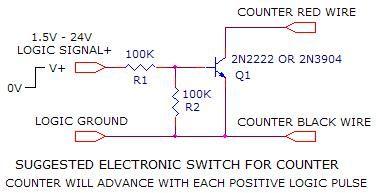 Poor Man Digital Counter Using Pedometer - Control_Circuit