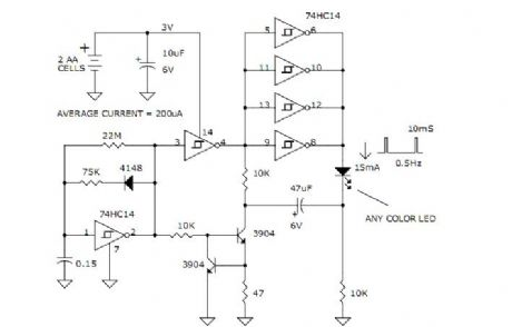 index 10 led and light circuit circuit diagram seekic com rh seekic com Random LED Flasher Circuit LED Flasher Relay