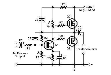 Mini-MosFet Audio Amplifiers