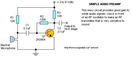 Audio Pre-Amplifier #1