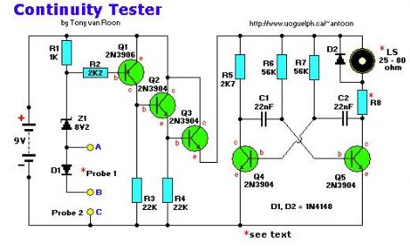 Continuity Tester, Low-Voltage