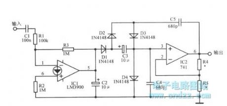 Wien bridge circuit controlled by current