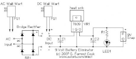 Circuit Diagram Of Battery Eliminator | Index 48 Basic Circuit Circuit Diagram Seekic Com