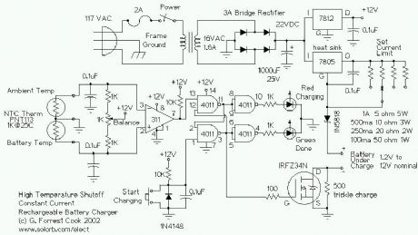 index 28 power supply circuit circuit diagram seekic comtemperature controlled nicd charger this circuit