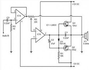 Index18 on amp circuit diagram