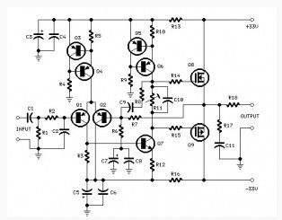 25 Watt Power  lifier Based Mosfet as well 12 Volt Potentiometer Wiring Diagram together with Darlington Pair To Drive Dc Motor additionally Linear Actuator Limit Switch Wiring Diagram in addition Ultrasonic Position Sensor. on linear potentiometer wiring