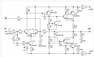 100 watt high quality power amplifier amplifier_circuit circuit