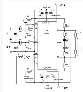 index 13 amplifier circuit circuit diagram seekic com14w Stereo Power Amplifier Circuit Based Tda8552 #10