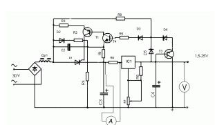 1.5V-25V Power Supply with Preregulator