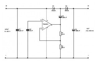 Power-Supply Circuits-DC to DC - power supply circuit - Circuit ...