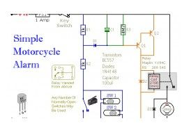 Easy Build Motorcycle Alarm