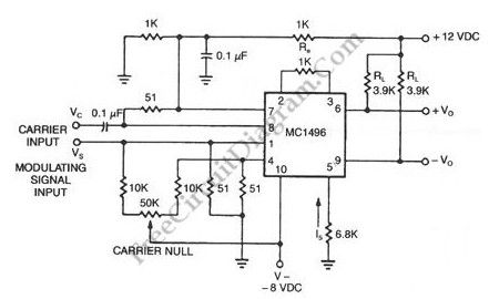 Suppressedcarrier Modulator Circuit Diagram Tradeoficcom - Wiring