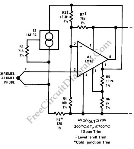 Thermocouple Transmitter Circuit Schematic Diagram - Wiring Diagram on
