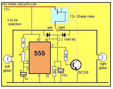 FLASHING INDICATORS Circuit
