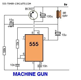 MACHINE GUN Circuit
