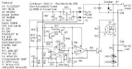 index 7 led and light circuit circuit diagram seekic com