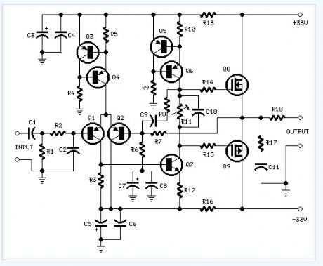 index 10 - - amplifier circuit - circuit diagram