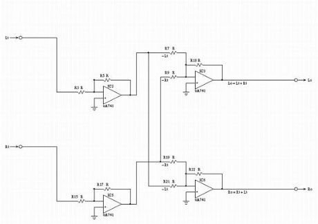 Low Frequency Equivalent Circuit Schematic