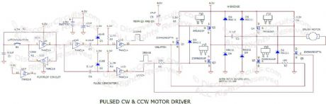Alternating CW & CCW Motor Driver