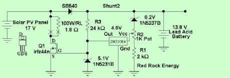 Shunt Charge Controller