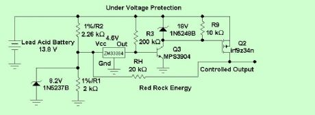Under Voltage Protection Circuit