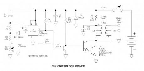 555 Ignition Coil Driver