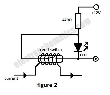 Reed Switch as a Current Monitor