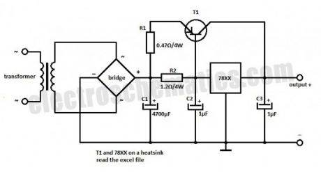 78XX Voltage Regulator Extension