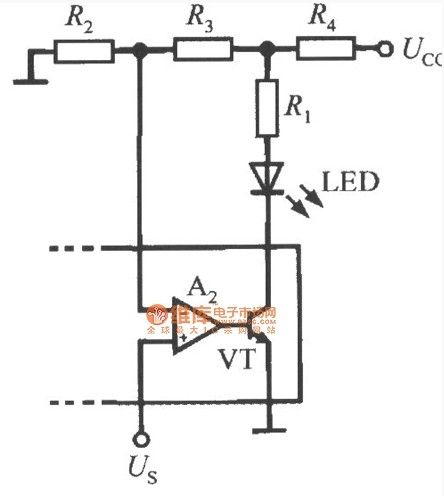 Overspeed alarm indicator with hysteresis circuit diagram
