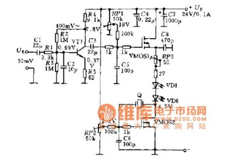 Oscillator infrared transmitter circuit diagram
