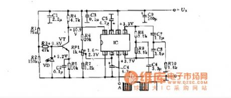 IR receiver schematic circuit