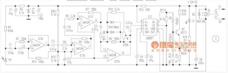 Infrared Circuit Schematic