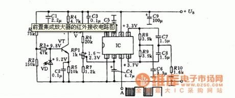 Praevia integrated amplifier infrared reception circuit diagram