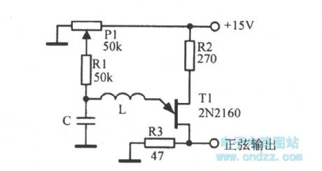 1-50kHz sine wave oscillator circuit diagram