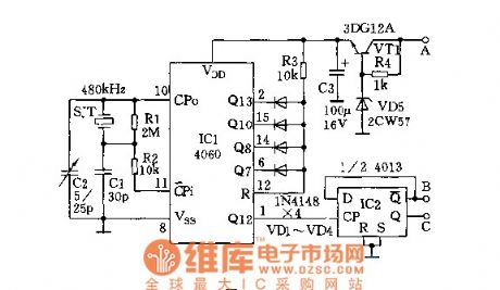High-precision 50Hz time base circuit and its application