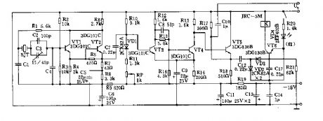 56-512kHz frequency oscillator circuit