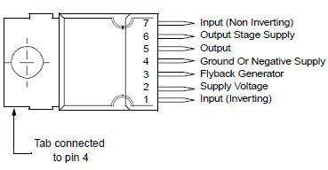 Supply Voltage (pin 2) - Note 1 and Note 2. Value.
