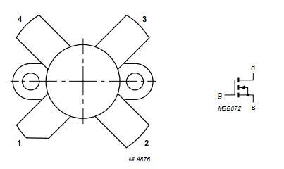 BLF177 pin configuration