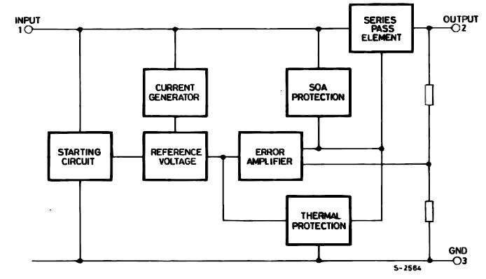 L7809 schematic diagram