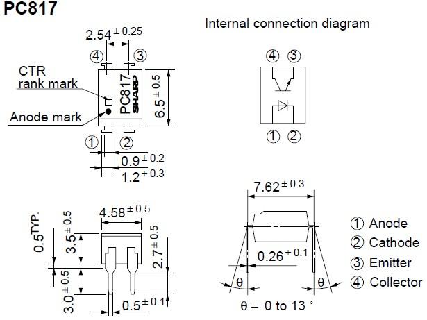 PC817 Original supply, US $ 0.049-0.05 , [Sharp] Sharp Electrionic