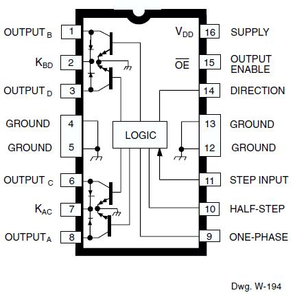 UCN5804LB diagram