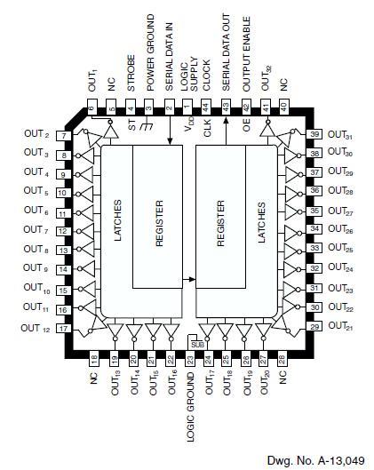 UCN5833A diagram