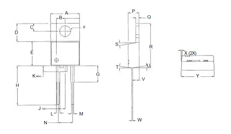 CSD20030 Package Dimensions