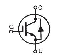 IXGH40N60B2D1 circuit diagram