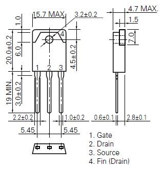 K2368 package dimensions