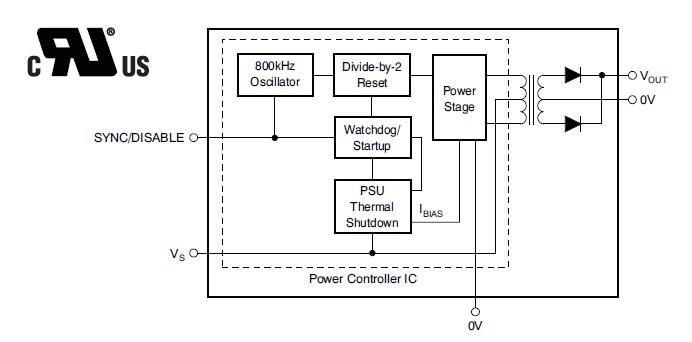 DCP020505P block diagram