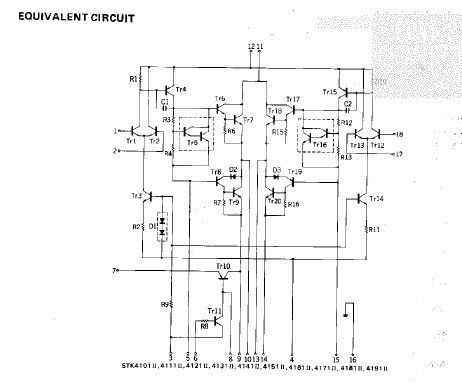 stk4141-ii equivalent circuit