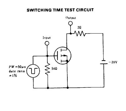 2SJ49 test circuit