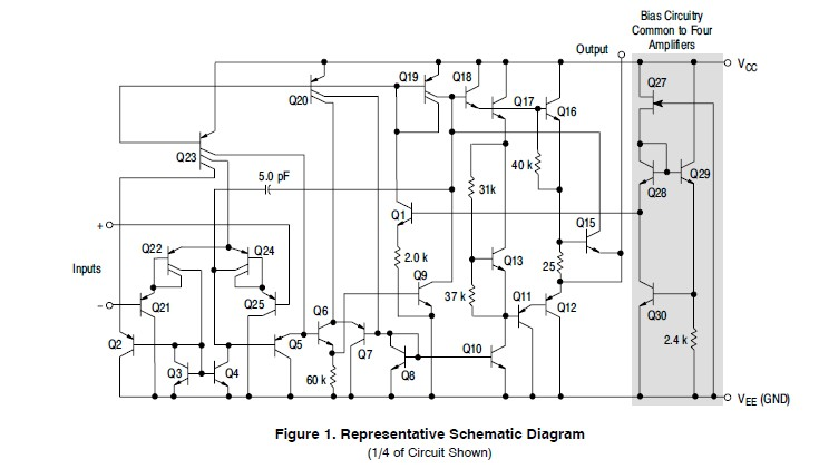 MC3403DR2G schematic diagram